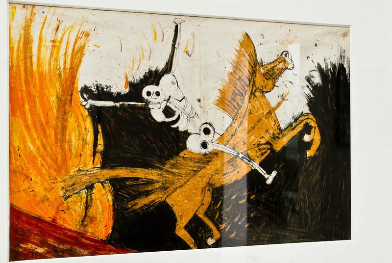 Rufino Tamayo (Mexico 1899 - 1991)<br /> Museo de Arte Moderno Gerardo Chávez - Trujillo - La Libertad - Perú