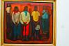 """Ángel Chávez (Perú 1928 - 1995): """"Esperando la paga""""<br /> Museo de Arte Moderno Gerardo Chávez - Trujillo - La Libertad - Perú"""
