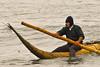 The first type of surfboard ever and being used for over 1.800 years now by the local fishermen.<br /> <br /> El primer tipo de tabla de surf de los tiempos y después de 1800 años todavía utilizado por los pescadores locales.<br /> <br /> Het eerste type surfplank ooit en na 1.800 jaar nog steeds in gebruik bij de lokale vissers. <br /> <br /> Le premier type de planche de surf jamais utilisée et après 1800 années encore toujours utilisée par les pêcheurs locaux.
