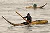 Local fishermen on their caballito de totora, an ancient way to go fishing.<br /> <br /> Pescadores locales en sus caballitos de totora, una forma antigua de ir a pescar.<br /> <br /> Plaatselijke vissers op hun caballito de totora, een eeuwenoude manier om te gaan vissen. <br /> <br /> Pêcheurs locaux sur leurs caballito de totora, une ancienne manière d'aller pêcher.