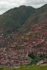 Cusco hillside