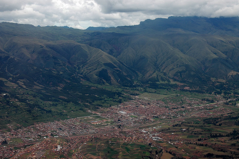 Flying into Cusco, Peru - 11,000 Feet Above Sea Level