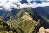 Machu Picchu seen from the top of Huayna Picchu