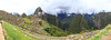 Panorama of Machu Picchu, Huayna Picchu and Phutuq K'usi