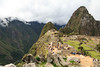 The Western side of Machu Picchu, with Huayna Picchu in the background