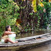 (Photo 0164)  This is the real life on the Amazon River.
