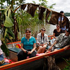(Photo 0273)  Group tour through the Amazon River.