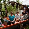 (Photo 0273)  Group tour through the Amazon River.