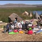 (video 0005) Floating Islands in Puno, Peru