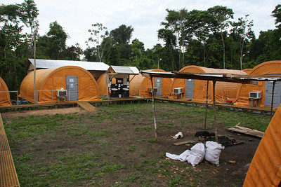 Providencia camp - assembly area