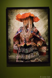 Testino  has a wonderful series of photos of Peruvians from the Cusco area in native dress.  Such elaborate costumes are seen less and less as the younger generations opt for western style clothes.