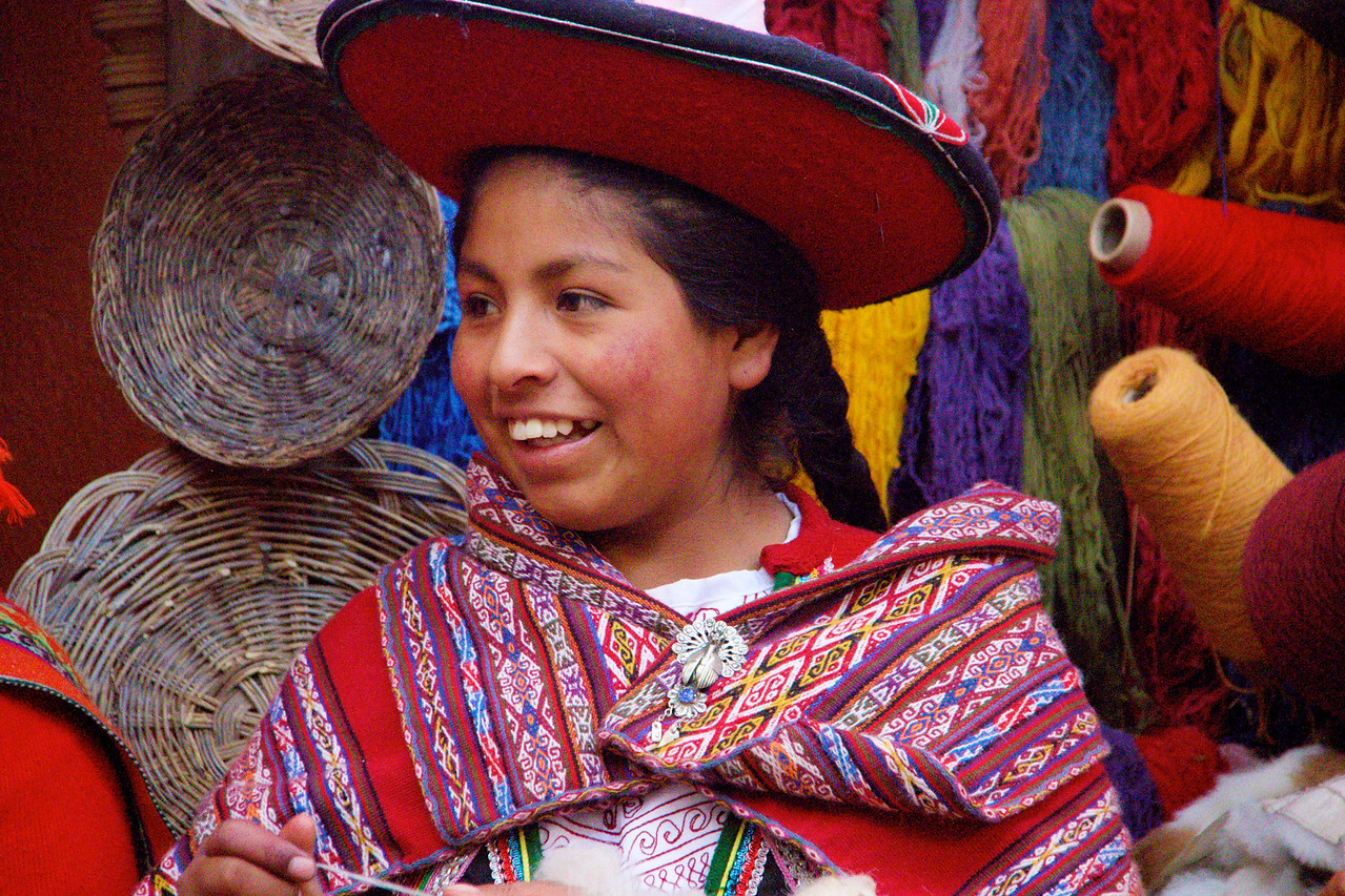 Local Weavers, Chincero, Peru