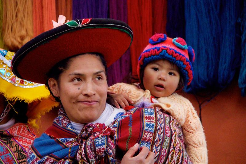 Local Weavers, Chincero, Peru