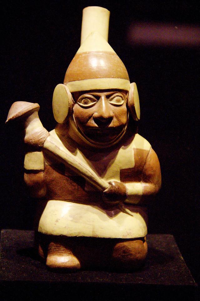 Rafael Larco Herrera Museum, Lima Peru