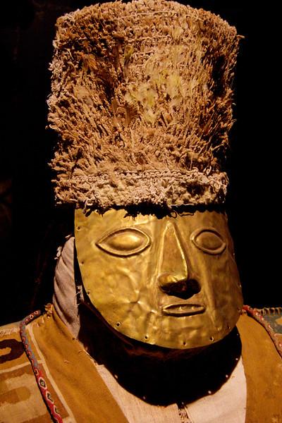 Mummy, Rafael Larco Herrera Museum, Lima Peru