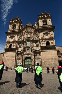 Peru-Land of the Incas | The Iglesia de la Compania de Jesus, a rival church to the Santo Domingo Cathedral. Built in 1571