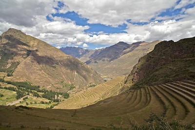 Peru-Land of the Incas | Pisac Inca Ruins