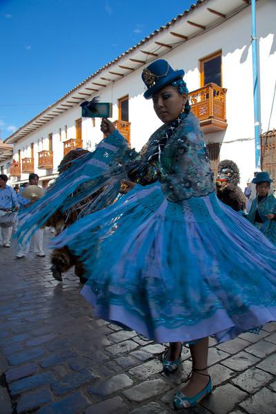 2013-06-09   Cusco - Plaza de Armas parade