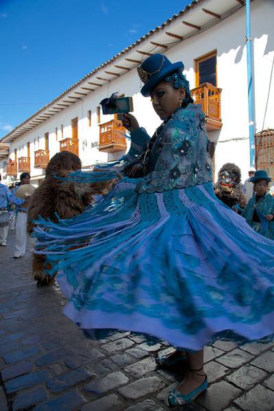 2013-06-09 | Cusco - Plaza de Armas parade