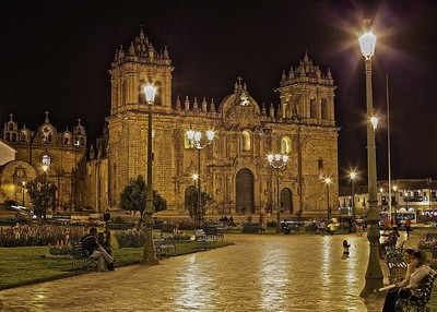 Peru-Land of the Incas | The Cathedral of Santo Domingo in Cusco, which is also known as 'Cusco Cathedral | Built in 1559