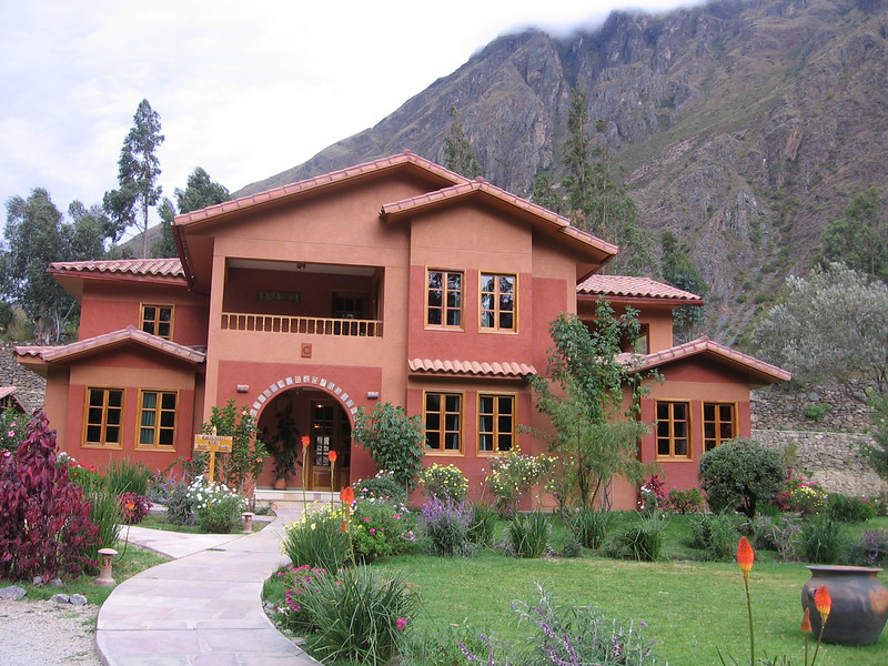 Our building at Hotel Pakaritampu in the charming village of Ollantaytambo.