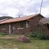 Typical homemade brick architecture found in the Sacred Valley; particularly in the smaller villages.