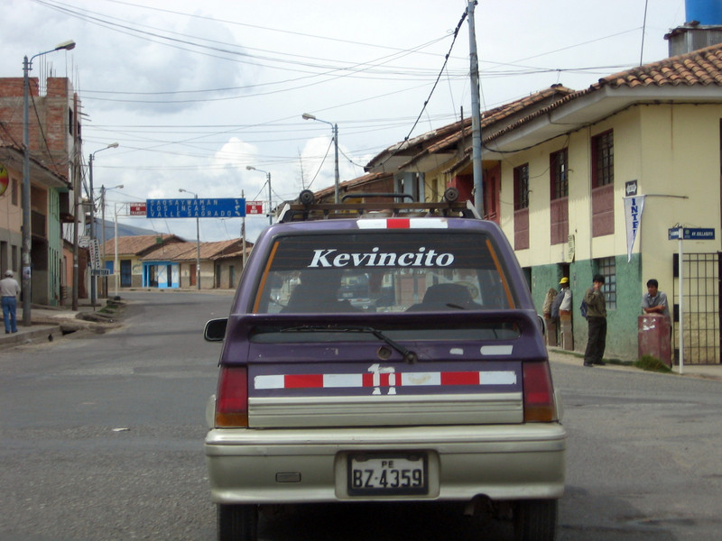 We followed Kevincito up the hill and hoped he would accompany us for a little while, but he soon turned down a side street.