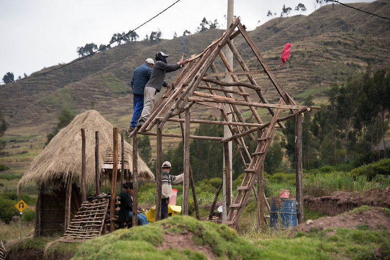 Traditional Construction in the Sacred Valley