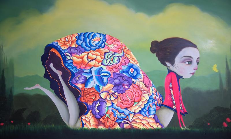 Joan Alfaro Painting