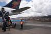 Landing in Cuzco