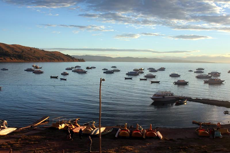 Copacabana, Bolivia...Lake Titicaca
