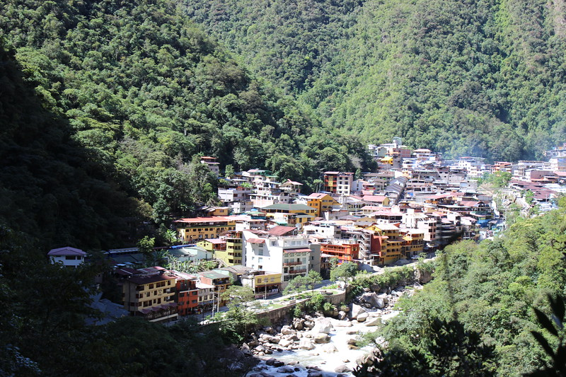 Aguas Calientes near Machu Pichu