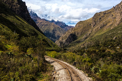 The Urubamba River Valley