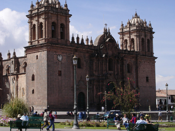 Main cathedral in Cusco