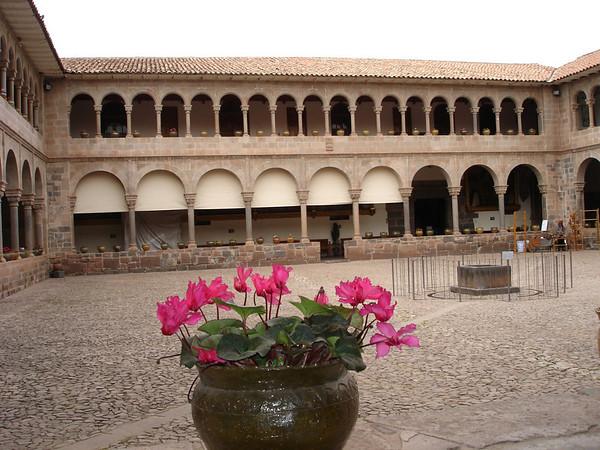 Santo Domingo Cathedral, built on Incan ruins of Koricancha
