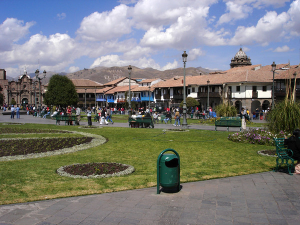 Main square in center of Cusco