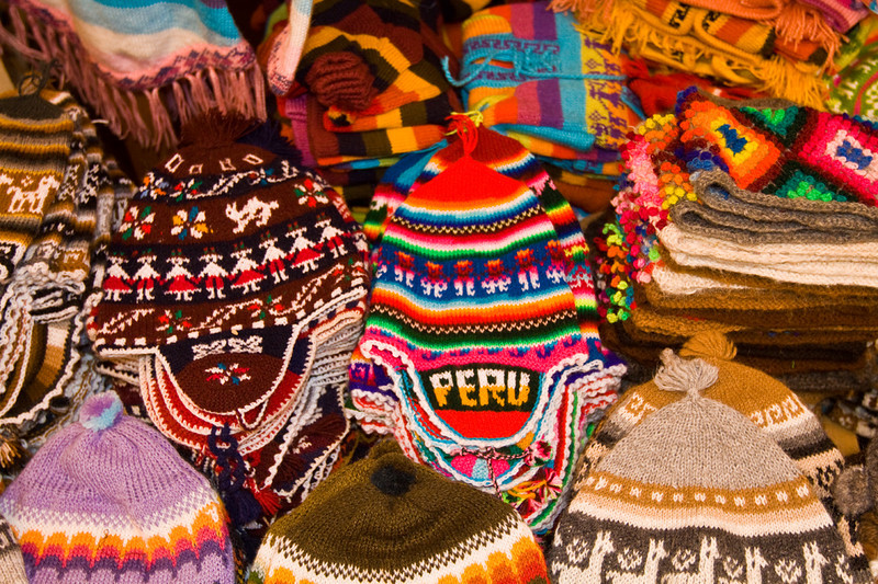 Peruvian colors.