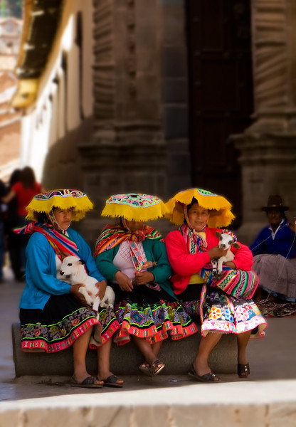 The three Amigas - Cusco, Peru