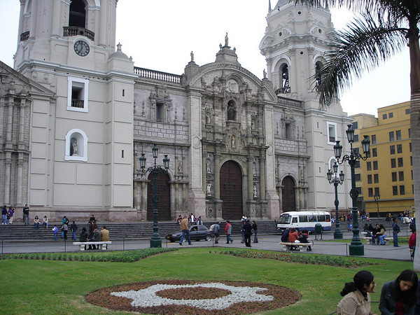 Cardinal & Bishops residence in Lima Square