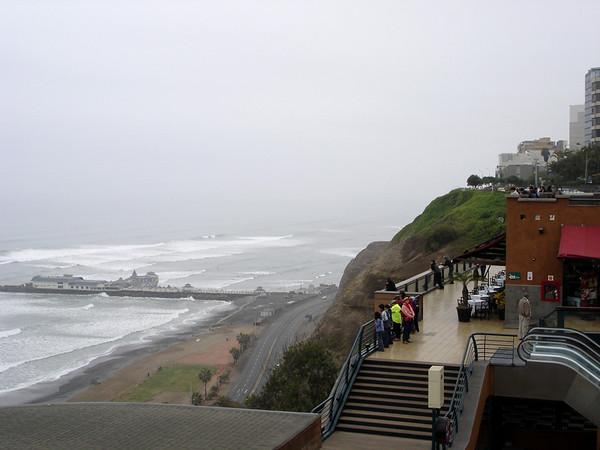 Lima:  Seaside, Rosa Nautica Restaurant