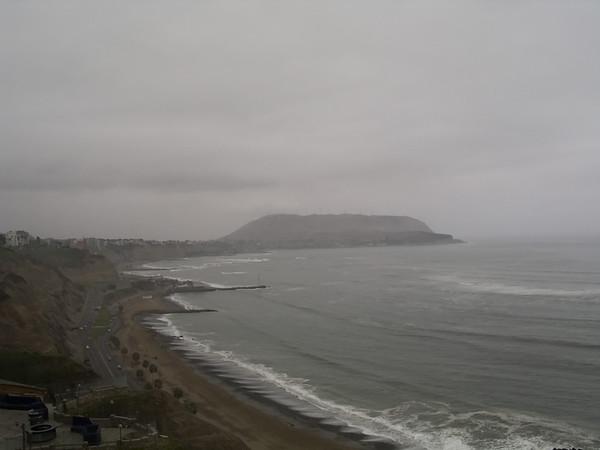 Lima shoreline