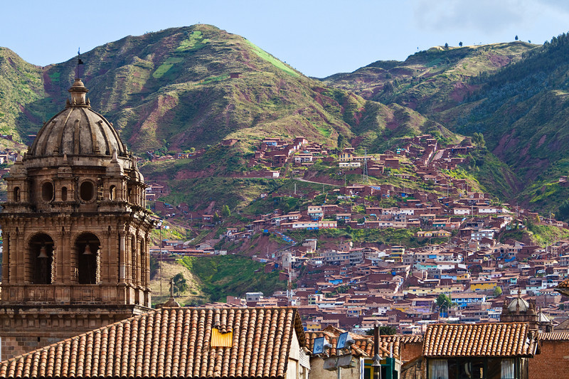 Company of Jesus, Bell tower in Cusco, Peru