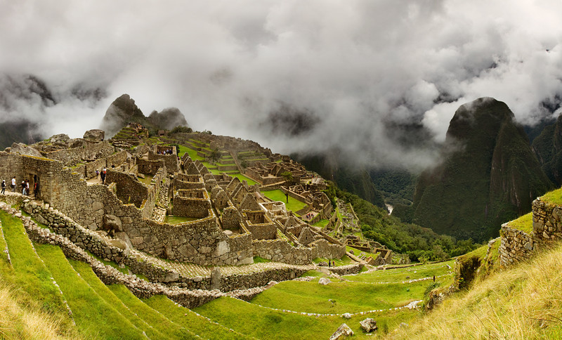 Clouds over Machu Picchu - Peru