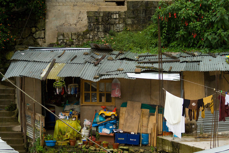 House we saw from our bedroom window in Aguas Calientes