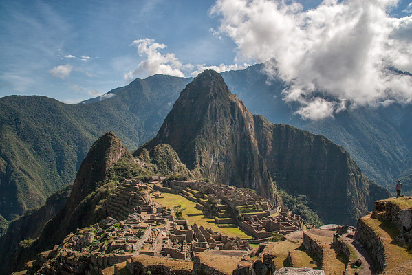 Machu Picchu - View from Guard House