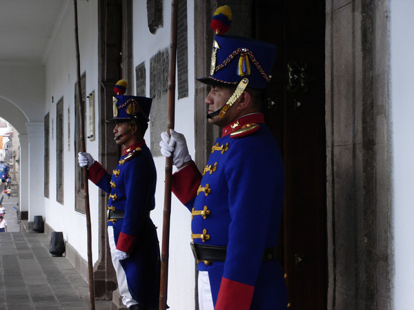 Presidential guards