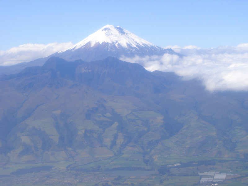 Cotopaxi, 19,388 feet  elevation