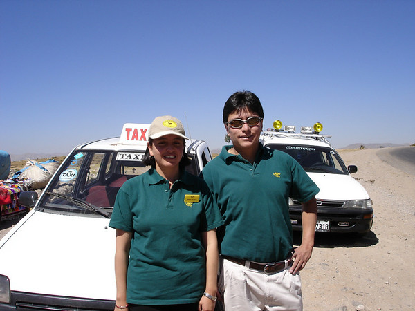 Ana & Orlando; our Cusco guide & driver