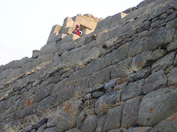 Incan ruins of Ollantaytambo