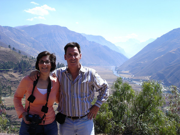 Cyndie & Richard at Mirador Taray overlook